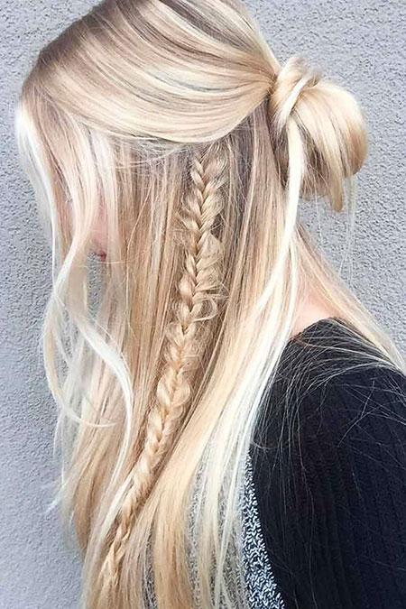 50 Long Blonde Summer Hairstyles Blonde Hairstyles 2020