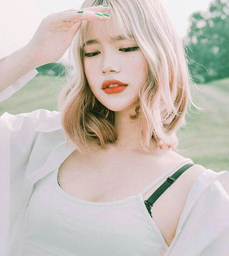 21 Short Blonde Asian Hair Blonde Hairstyles 2020
