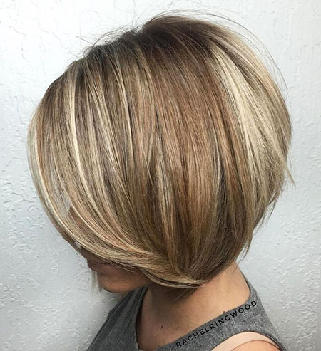 Blonde Bob Hairstyles, Balayage, Layered, Highlights, Blonde Hairstyles
