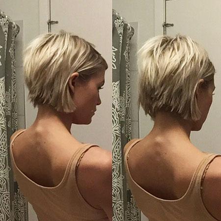 Short Hairstyles, Pixie Cut, Choppy, Blonde Bob Hairstyles, Rose