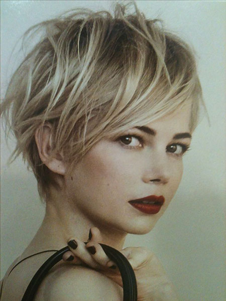 Short Hairstyles, Pixie Cut, Blonde Bob Hairstyles, Rosie, Long