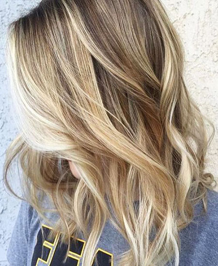 Blonde Hairstyles, Highlights, Balayage, Silver