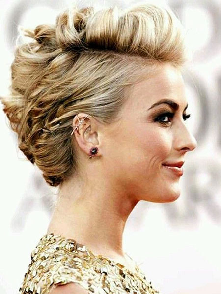 Wedding, Short Hairstyles, Updo, Julianne Hough, Toned