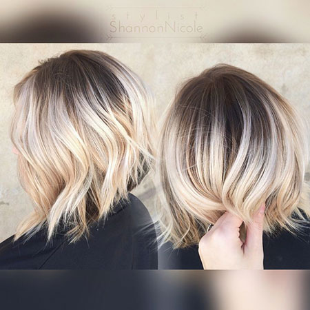 Blonde Hairstyles, Short Hairstyles, Balayage, Yellow, Platinum