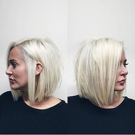 Blonde Bob Hairstyles, Short Hairstyles, Some, Platinum, Fall