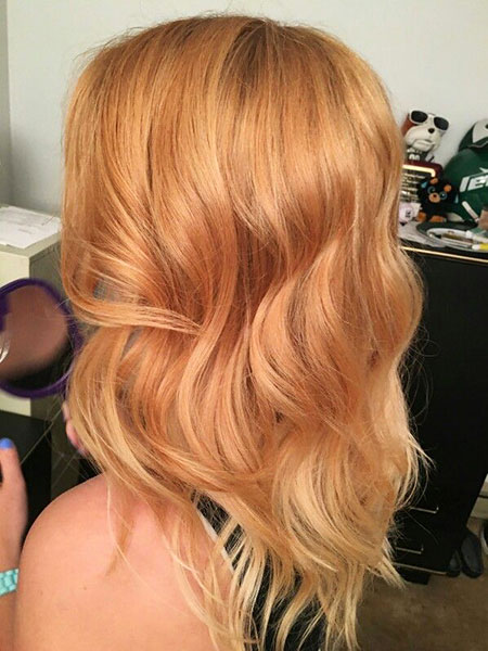 Blonde Hairstyles, Strawberry, Ombre, Short Hairstyles, Rose, Ombré