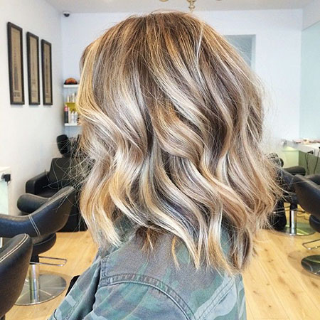 Blonde Hairstyles, Balayage, Highlights, 2017, Trending, Thin