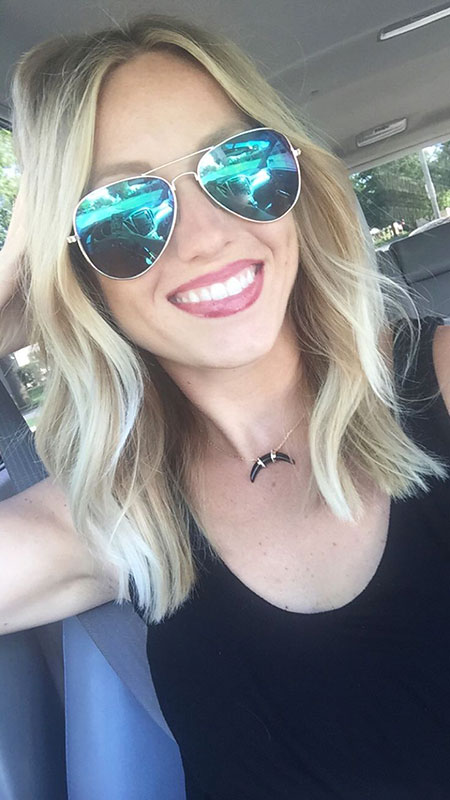 Blonde, Sunglasses, Long, Bob, Year, Wavy, Rock, Medium, Lob, Length, Balayage