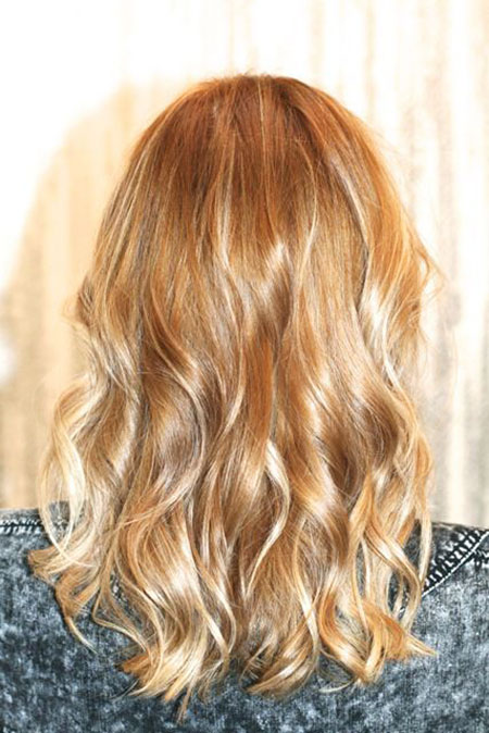 Blonde, Honey, Highlights, Balayage, Ombre, Colour