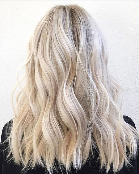 Blonde, Balayage, Frisyrer, Colours, 2017