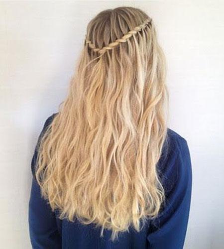 Braid, Waterfall, Braids, Braided, Twisted, Tutorials, Long