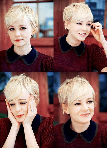 Pixie Cut, Wavy, Suga, Short Hairstyles, Mulligan, Luhan