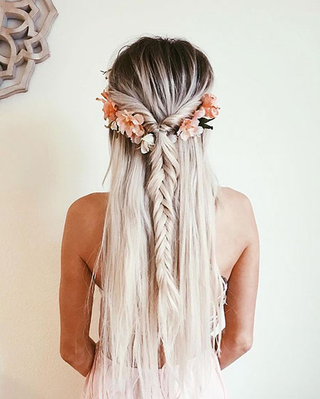 Braid Wild Waves Summer Simple Natural Messy Long Fishtail Easy
