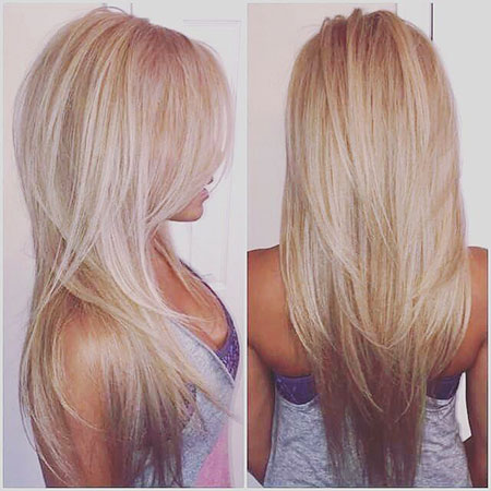 Blonde Highlights Long Layered Easy Colors Classic