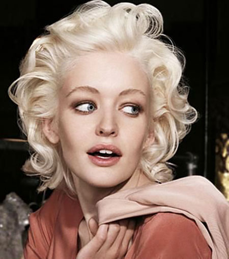 Short Hairstyles, Parton, Monroe, Marilyn, Dolly, Platinum, Mm