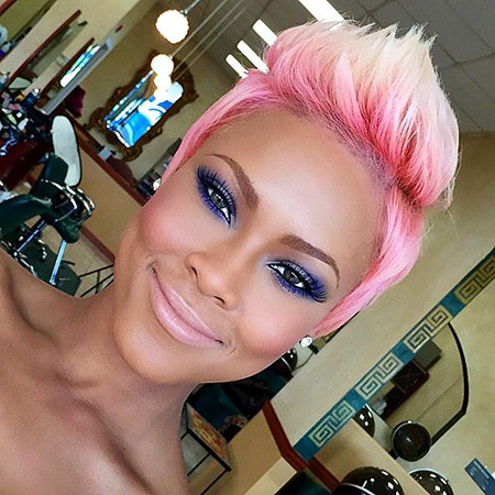 Pixie Cut, Pink, Instagram, Eyes, Edgy, Cute Hairstyles
