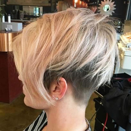 Blonde Bob Hairstyles, Short Hairstyles, Pixie Cut, Blonde Hairstyles, Side, Sexy