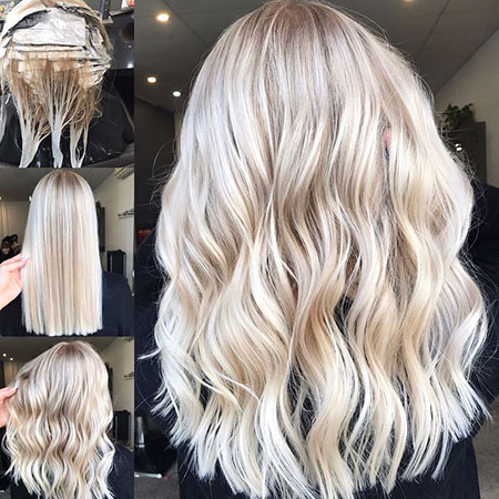 Blonde Balayage Long Tones Textured Highlights Golden