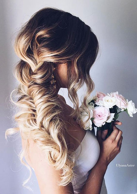 Wedding, Women, Trend, Thick, Simple, Prom, Long, Fishtail