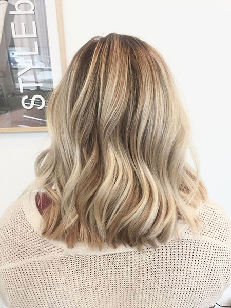Blonde Hairstyles, Balayage, Highlights, Women, Wedding