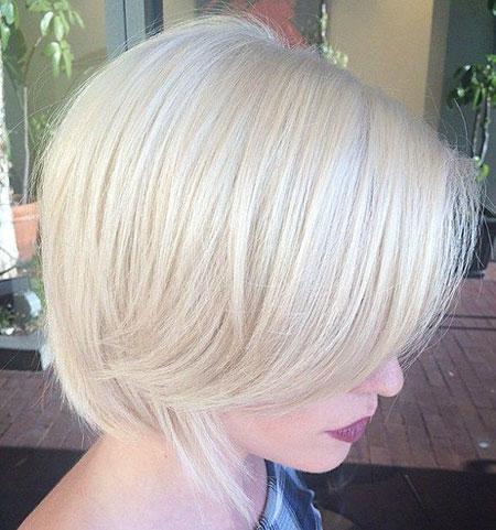 Blonde Hairstyles, Blonde Bob Hairstyles, Platinum, Silver