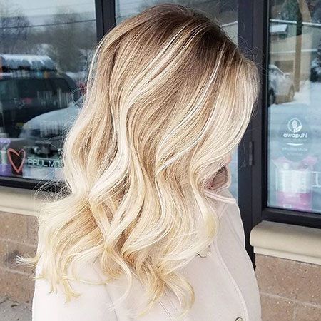 Blonde, Ombre, Balayage, 2017, Spring, Brown