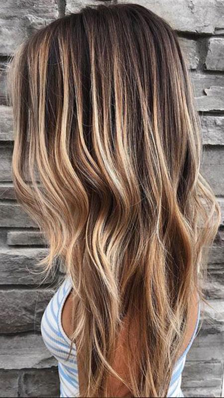 Blonde Highlights Balayage Twist Trend Summer Shades Season