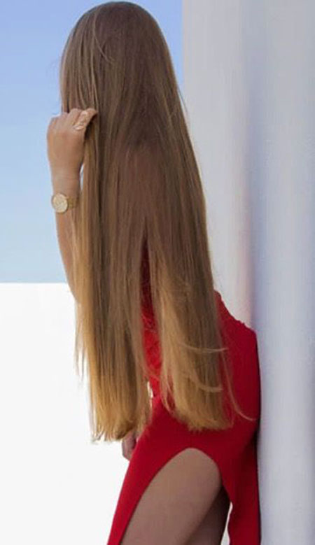 Ombre Long Highlights