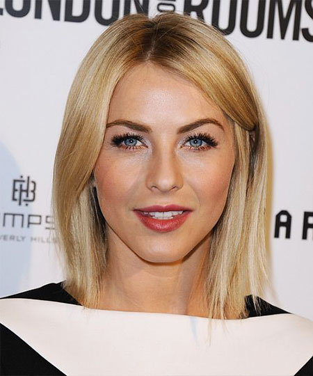Julianne Hough, Blonde Bob Hairstyles, Women, Wavy