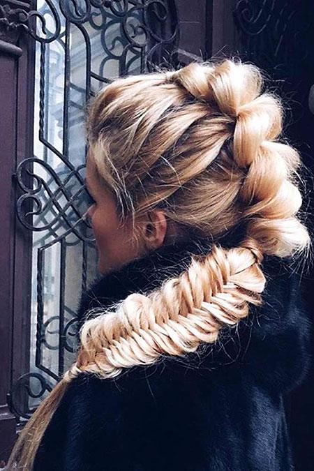 Braided, Updo, Bun, Braid, Wedding, Trendy, Trends, Side, Season, All