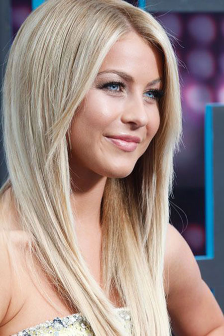 Straight Layered Julianne Jennifer Hough Blonde
