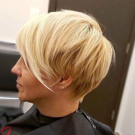 Short Hairstyles, Pixie Cut, Blonde Bob Hairstyles, Long, Layered