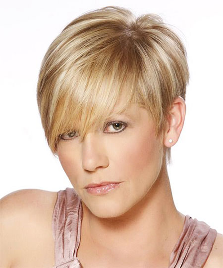 Short Hairstyles, Fine, Wig, Teen