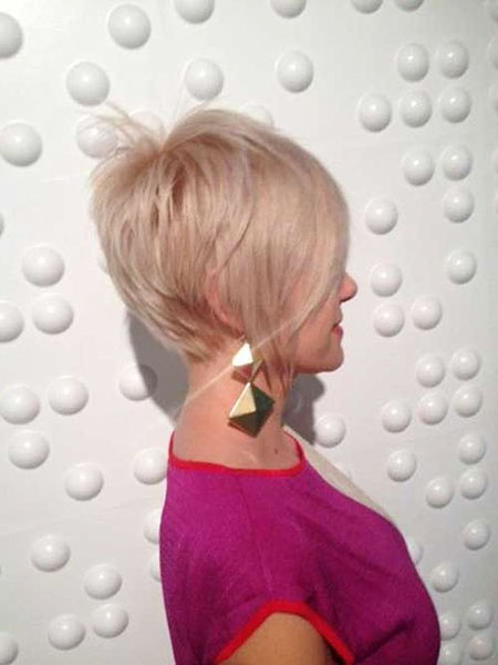 Short Hairstyles, Blonde Hairstyles, Pixie Cut, Winter, Natural