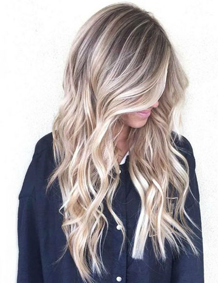 Blonde Balayage Highlights Winter Trends One Girl Bright