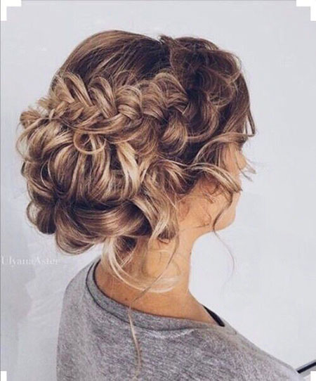 Wedding, Updo, Ulyana, Curls, Braids, Aster