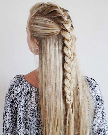 Trenza Trendy Summer Spring Long French Cute