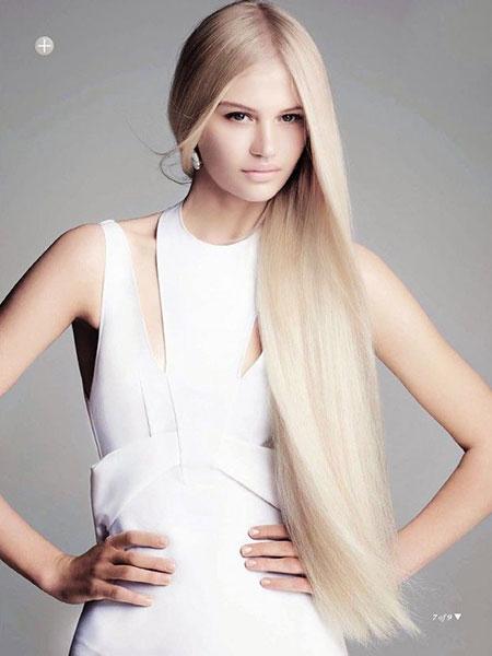Blonde Natural Long Light 203