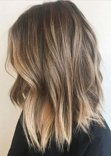 Balayage, Highlights, Choppy, Blonde Bob Hairstyles, Women, Summer, Subtle