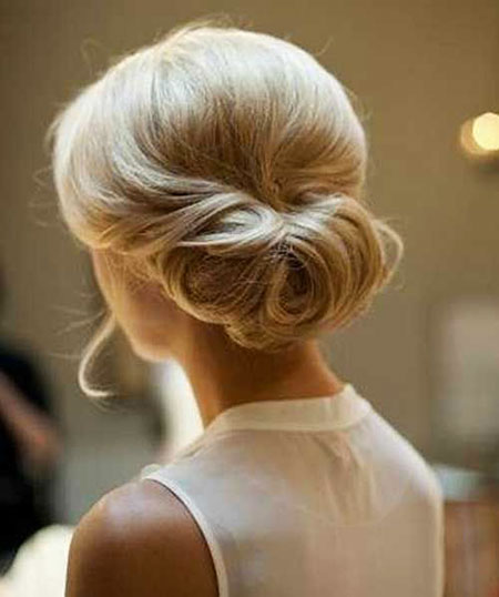 Wedding, Short Hairstyles, Updo, Women, Updos, Simple, Over, Long