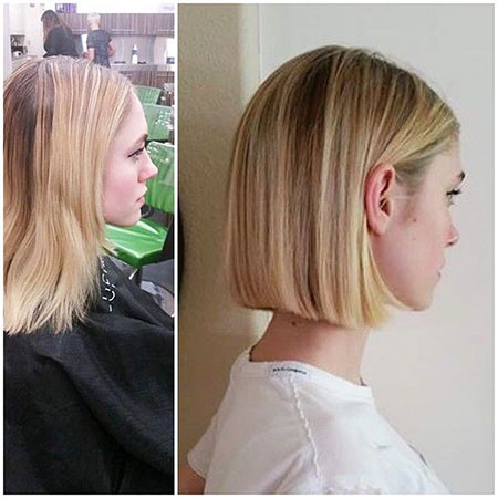 Blonde Bob Hairstyles, Blunt, Blonde Hairstyles, Thin, Silver, Long