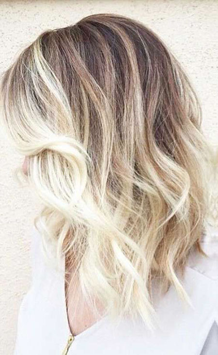 Blonde Hairstyles, Short Hairstyles, Ombre, Balayage, Medium