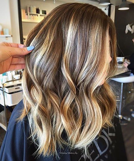 Blonde, Highlights, Balayage, Summer, Sandy, Fall, Colors