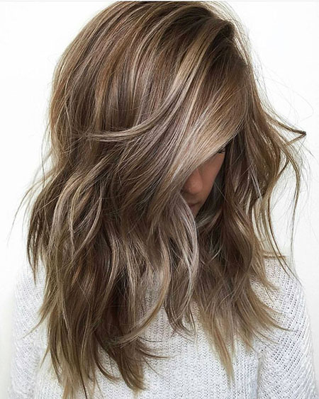 Balayage, Skin, Ombre, Light, Dark, Brown, Blonde, Blond