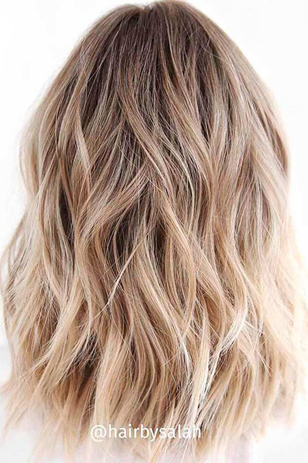 Blonde, Blond, Balayage, Ombre, Woman, Types, Thick, Summer