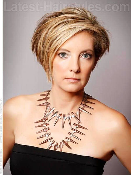 Short Hairstyles, Over, Women, Trendy, Round, Pixie Cut