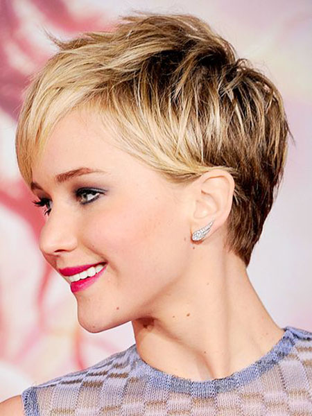 Short Hairstyles, Pixie Cut, Jennifer, Women, Winter