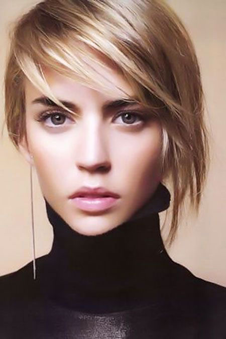 Short Hairstyles, Asymmetrical, Straight Hairstyles, Pixie Cut