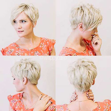 Short Hairstyles, Pixie Cut, 2017, Women, Shaggy