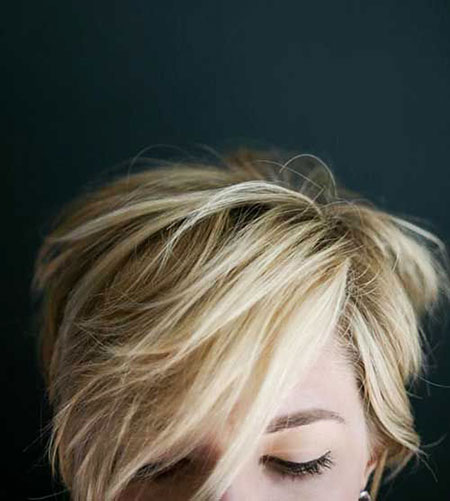 Pixie Cut, Messy, Blonde Bob Hairstyles, White, Silver